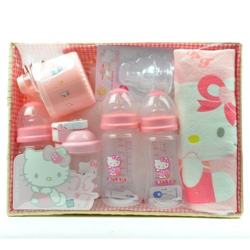 Firstcry Baby Gift Sets : New hello kitty baby bottles gift set bpa free in the uae