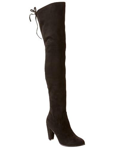 82b34652a73 Amazon.com  Catherine Malandrino Womens Sorcha Black Boot - 7.5  Shoes