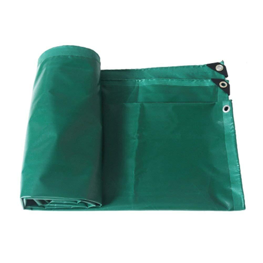 Vert 5x6M BÂche épaissir écran Solaire Multifonctionnel Extérieur Imperméable à l'eau Ombre Ondulation Linoléum Plusieurs Tailles Peuvent Être Personnalisés GMING (Couleur   Vert, Taille   2x3M)