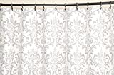 Fabric Shower Curtain - TRADITIONS STORM - 72'' Width x (72'', 74'', 78'', 84'', 90'', 96'') Length