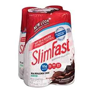 Slimfast Ready To Drink Rich Chocolate Royale Shake, 11 fluid ounce -- 24 per case.