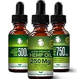 NatulabUSA - Hemp Oil - Fast Results - Relieve Chronic Pain - Ultra Premium Hemp Extract - Pure Hemp Seed Oil - Better Sleep - Healthier Skin - Smoother Hair - 250mg - 1oz- Natural Peppermint Flavor