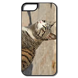 PTCY IPhone 5/5s Designed Particular Cat Animal