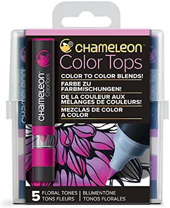 5 SET FLORAL TONES USE TO BLEND CHAMELEON COLOURS CHAMELEON COLOR TOPS