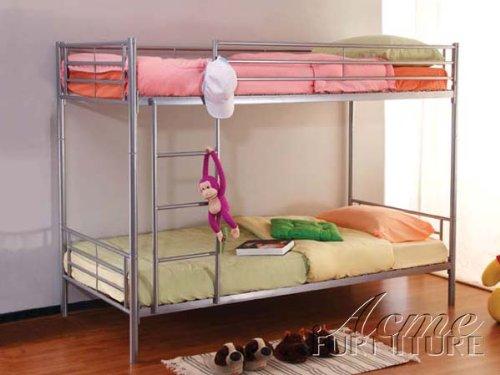 2'' Tube Twin / Twin Bunk Bed Acs002016