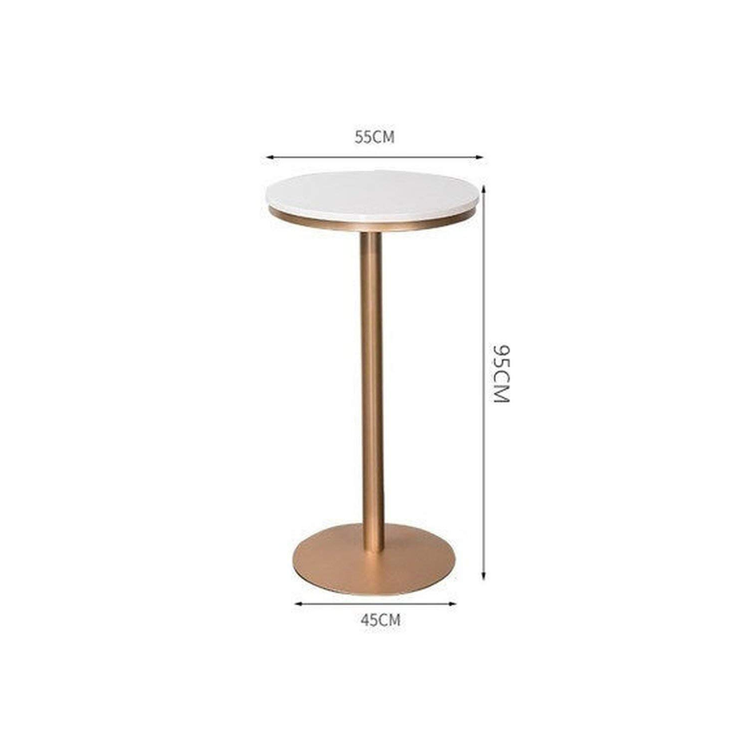 Table-95cm tthappy76 Simple Bar Stool Wrought Iron Bar Chair gold High Stool Modern Dining Chair Iron Leisure Chair Nordic,C-gold-75Cm