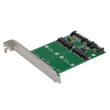 IPOTCH 1 Pieza Tarjeta de Adaptador mSATA SSD a SATA III de ...
