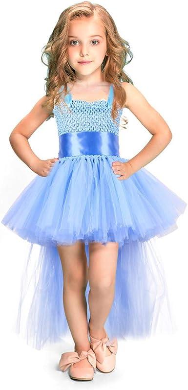 MerryWould Vestido Princesa de niña para Boda Falda de Vestir Gala ...