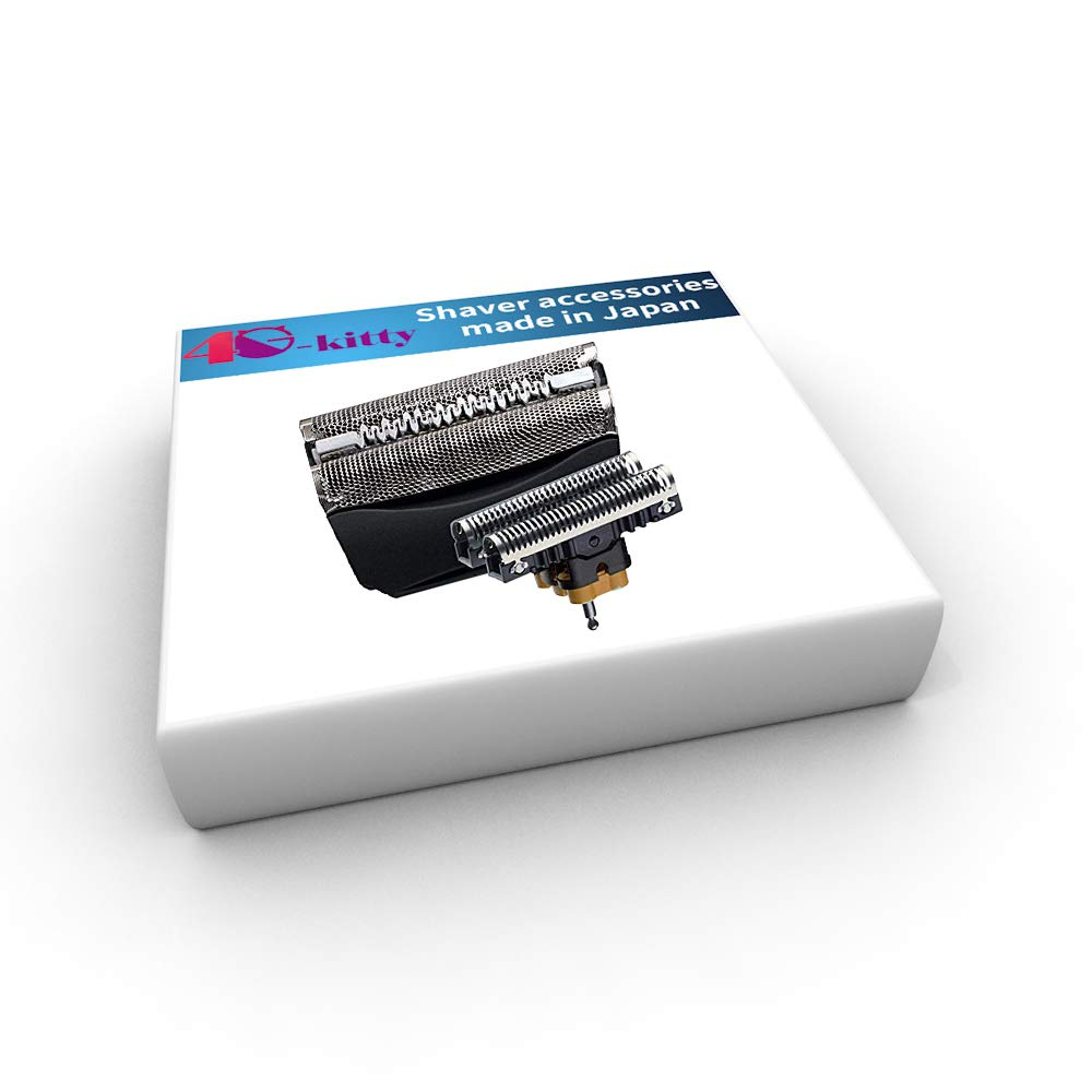 8000 360 Complete Foil / 51S Cutter Block Compatible for Braun Models 8995, 8985, 8975