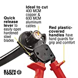Klein Tools 63060 Cable Cutters, Ratcheting Heavy