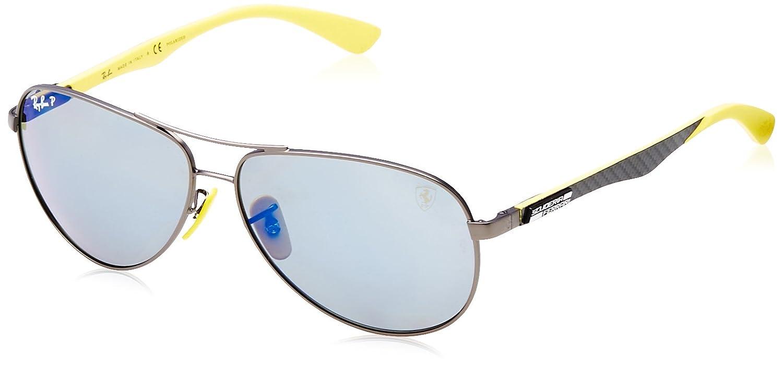 Ray-Ban 0Rb8313M Gafas de sol, Aviador, Polarizadas, 49, Matte ...