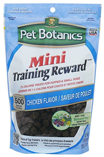 Pet Botanics 10 Oz Training Reward Chicken Treats For Dogs, Mini