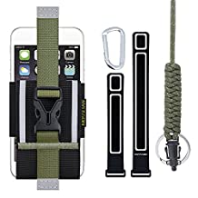 iPhone 6s Armband: MOSSLIAN Sport Jogging Armband Case Pouch for Workout, Running, Hiking, Working, Cycling, any Fitness Activity Outside for iPhone 6/6s/5/4/SE, HUAWEI Mate 9. (5.0~6.0 inch)