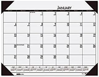product image for HOD12442 - EcoTones Mountain Gray Monthly Desk Pad Calendar