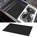 #10: ROCCS Secret Compartment Cover Center Console Organizer Tray for 2014-2018 GMC Sierra 1500 2500HD 3500HD Denali Chevy Silverado Hidden Accessories