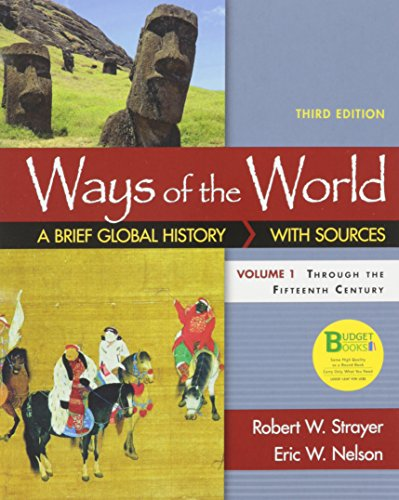 Loose-Leaf Version for Ways of the World: A Brief Global History with Sources, Volume I: ()