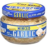 Spice World Minced Garlic, 4.5 oz