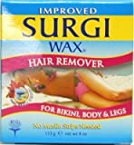 Surgiwax Body and Legs Hair Remover 4 oz. Jar (Case of 6) by Surgiwax