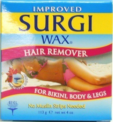 Surgiwax Body and Legs Hair Remover 4 oz. Jar (Case of 6)