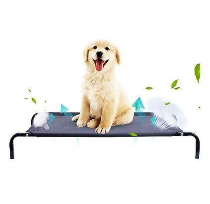 LMCWZP Cama Elevada para Mascota Cama Perro para Dormir ...