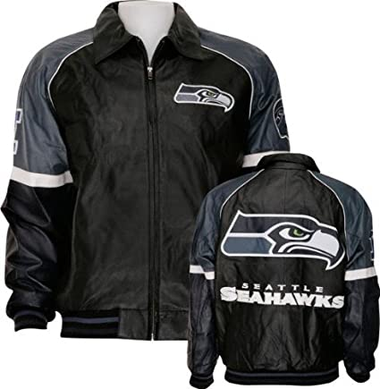 com Seattle Elite Varsity amp; Leather Seahawks Outdoors Collared Jacket Outerwear Jackets Sports Amazon|Are You Ready For Some Football?