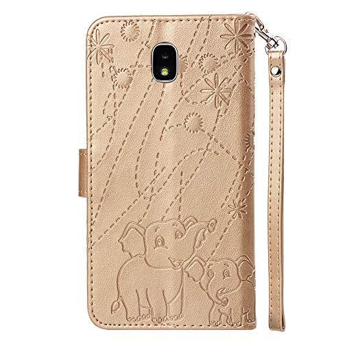Pelle Molle Cover Galaxy Case Antiurto Protettiva Silicone Modello J7 Per Con Samsung 2017 Flip Shell Magnetico Golde Design Hopmore Portafoglio Morbido Caso Fantasia Custodia Nero Pu BzxfFnqq