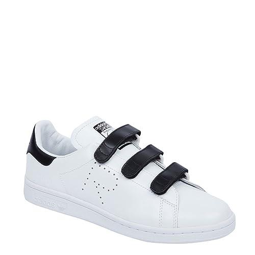official photos 1d338 65b98 Adidas X RAF Simons Women s Stan Smith CF Sneakers BB2682 W White Black  White