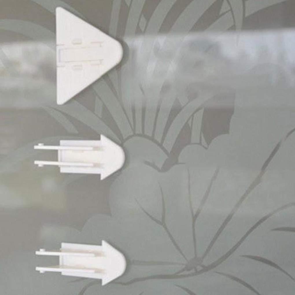 Set cerraduras de Puerta corrediza para la Seguridad del beb/é de Bloqueo a Prueba de ni/ños para correderas Armario Gabinete Armario Puertas de Patio de Cristal de Windows Regard 5pcs