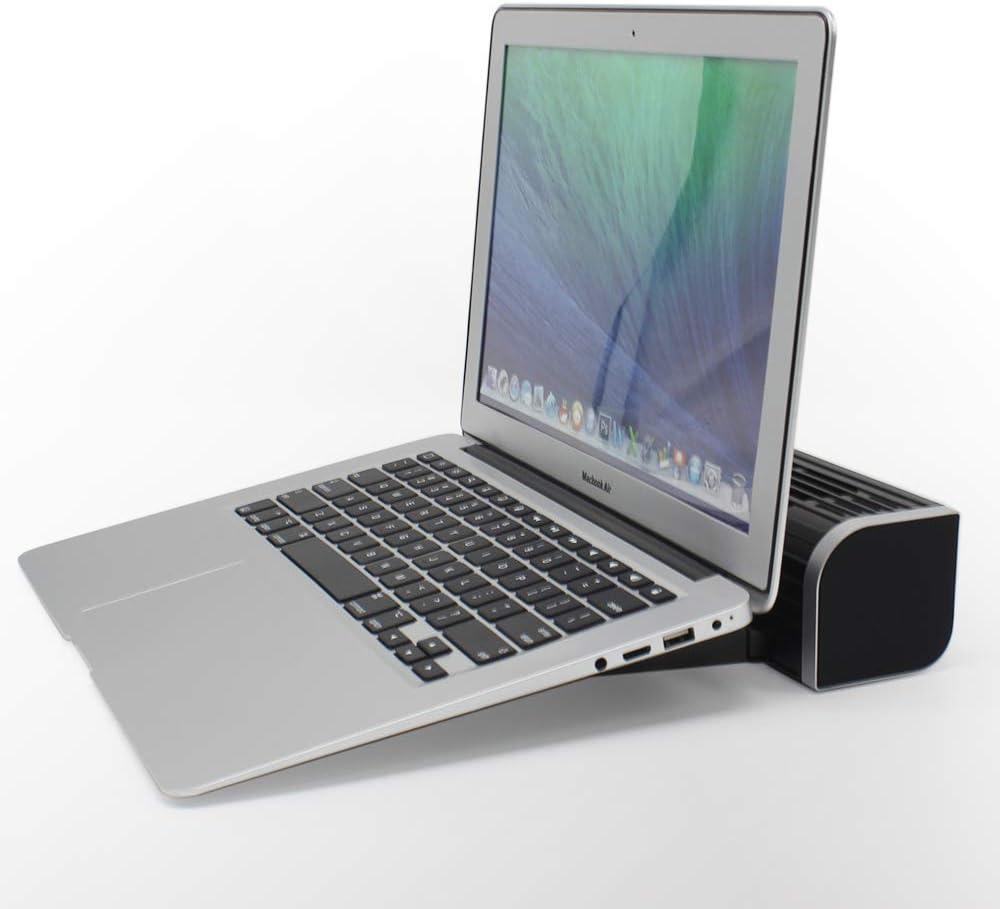 Artboy CF-1691 USB Cooling Fan Laptop Pad Stand Fan Notebook Computer Phone Cooler Horizontal Axis Fan Bracket Black