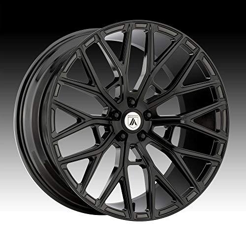 ASANTI BLACK ABL-21 LEO Gloss Black Wheel (22 x 9. inches /5 x 72 mm, 32 mm Offset)