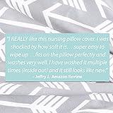 Minky Nursing Pillow Cover - Arrow Pattern Slipcover