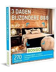 Bongo Bon - 3 Dagen Bijzondere B&B   Cadeaubonnen Cadeaukaart cadeau voor man of vrouw   270 bijzondere en luxueuze B&B's