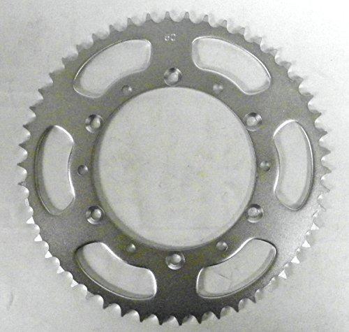 Kawasaki Steel Rear Sprocket Moto-X KX 125 1985-2005/ KDX 200 1985-2006/ KDX 220 1997-2005/ KDX 250 1991-1994 50 Teeth RSK-014-50 OEM #: 42041-1408, 42041-1450 ()