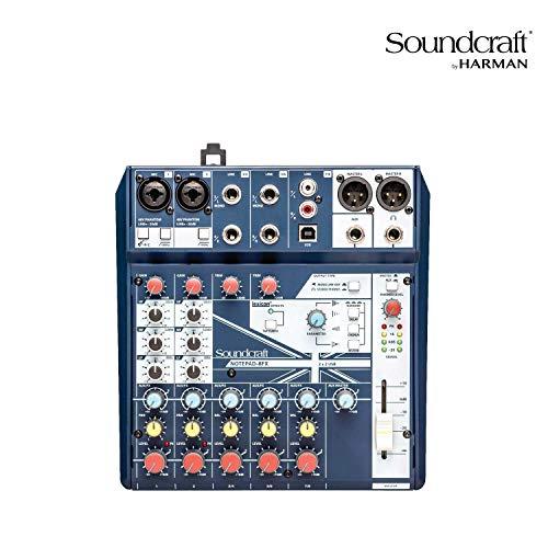 Soundcraft Notepad-8FX Small-format Analog