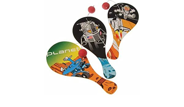 Amazon.com: Space Paddle Balls Case Pack 10 , Kid ,Toy , Hobbie , Nice Gift: Toys & Games