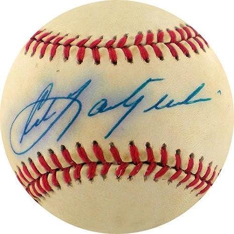 Carlyaz Yastrzemski Signed Bobby Brown Oal Base Ball