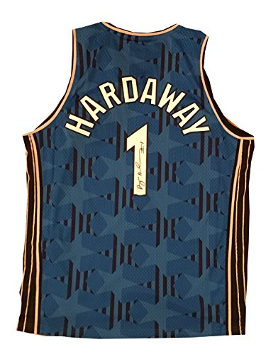 - Anfernee Penny Hardaway Autographed Orlando Magic Blue Swingman Signed Basketball Jersey JSA COA