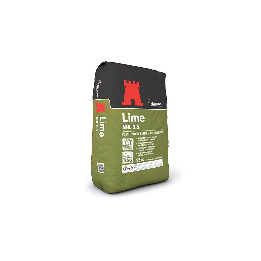 Hanson Hydraulic Lime 25Kg Bag