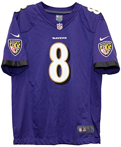 7278e70a Nike Lamar Jackson Baltimore Ravens Team Color Youth Game Jersey