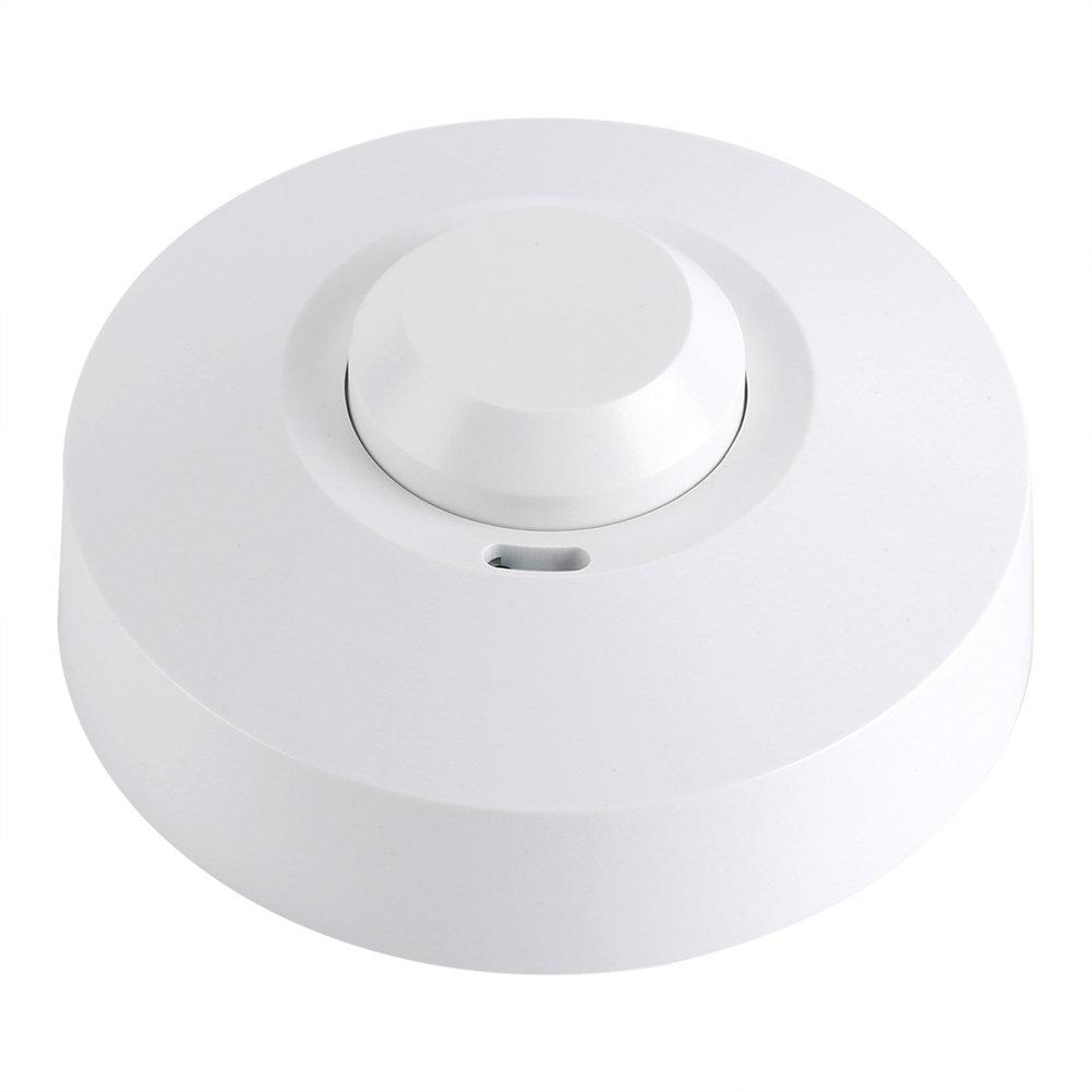 Interruptor de luz inteligente del sensor del radar del detector de movimiento de la microonda de 360 grados(220V-240V SK-600): Amazon.es: Bricolaje y ...