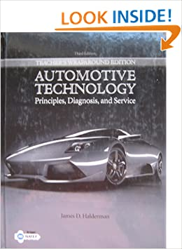 Automotive Technology: Principles, Diagnosis and Service ...