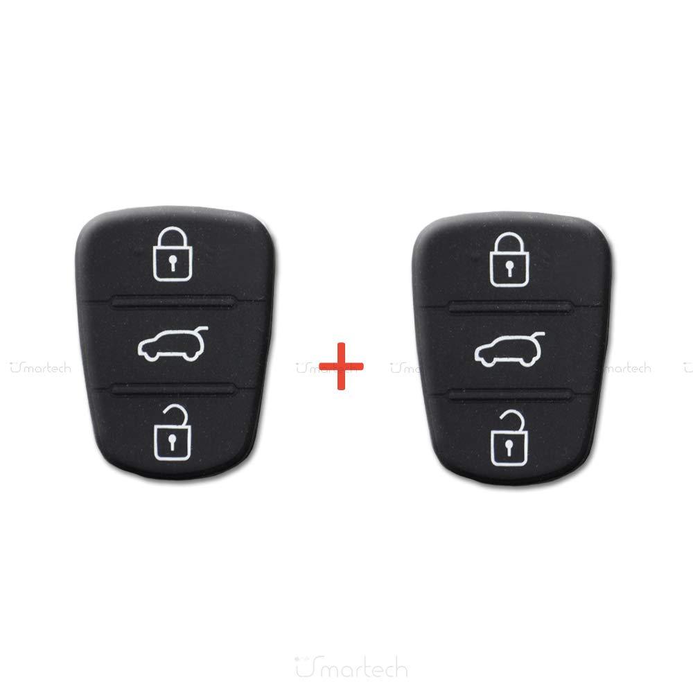 Qiilu Carcasa Case Funda Llave Remoto de Mando Coche para Hyundai I10 I20 product image