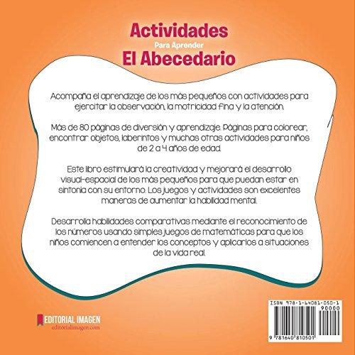Actividades para aprender el Abecedario: Juegos y Actividades para ...