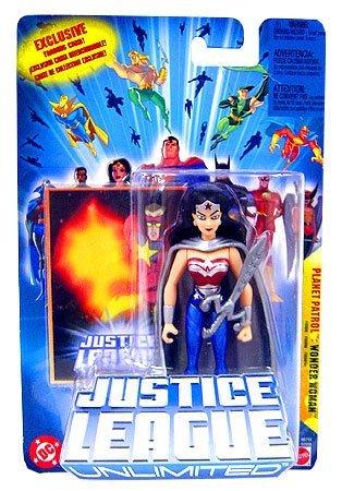 WONDER WOMAN PLANET PATROL JUSTICE LEAGUE UNLIMITED 4.5