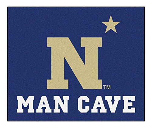 Fan Mats 17343 U.S. Naval Academy Midshipmen 5' x 6' Man Cave Tailgater Mat by Fanmats