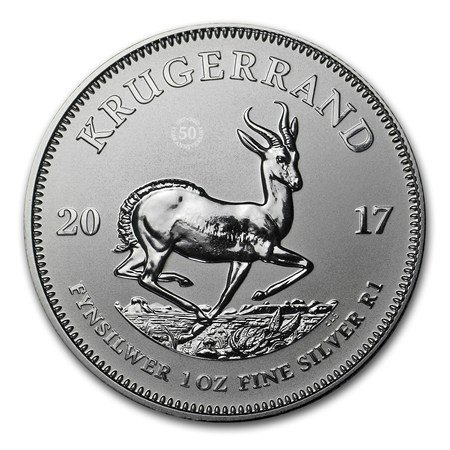 2017 ZA Krugerrand $1 Brilliant Uncirculated ()