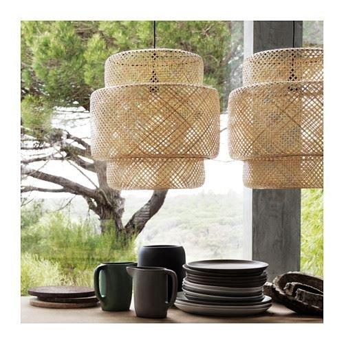 Sentido erlig - Lámpara de techo, bambú: Amazon.es: Hogar
