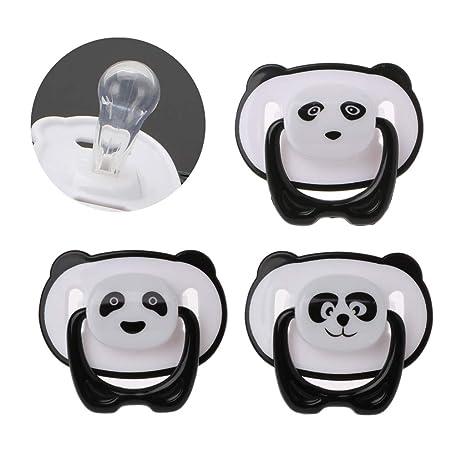 Jiay Precioso Panda Chupete De Silicona Bebé Chupete chupete ...