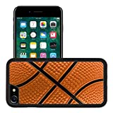 Luxlady Premium Apple iPhone 7 iPhone7 Aluminum Backplate Bumper Snap Case IMAGE ID 1978536 Basketball pattern