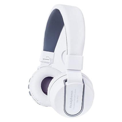 Gaming Auriculares Deportivos Inalámbricos, Bluetooth 4.1 Auriculares Overhead Surround Sound Con Micrófono Radio Reproductor De